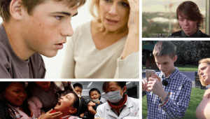 Síntomas del autismo, imagen de joven autista