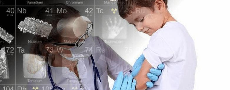 Vacunas, foto de niño reciviendo vacunas