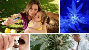 cannabis medicinal: Imagem de uma mãe e sua filha