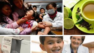 Medicar-niño con tea: imagen de niña descontrolada