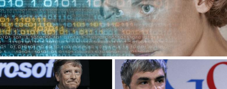 Personas autistas, imagen de Temple Grandin y los ejecutivos de Microsoft y Google
