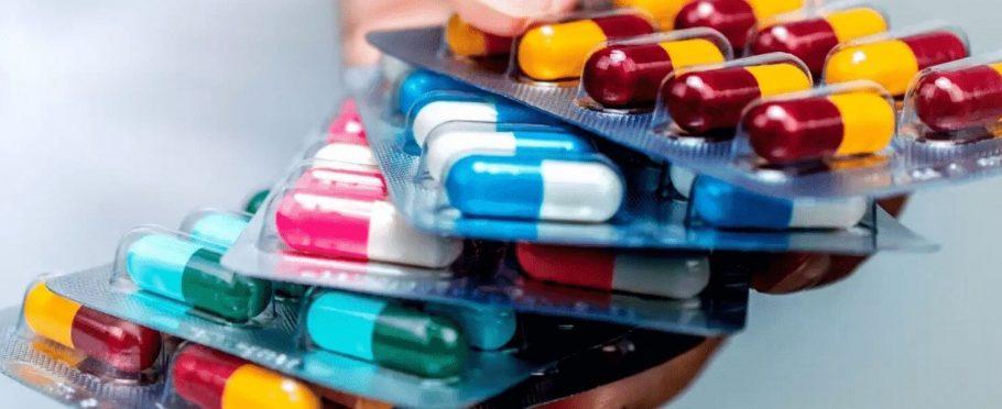 antipsicóticos, imagen de diferentes medicamentos