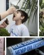 Autismo-Canabidiol-CBD: imagen de diferentes productos a base de marihuana