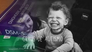 Imagen de uma mulher e seu filho, grau de autismo